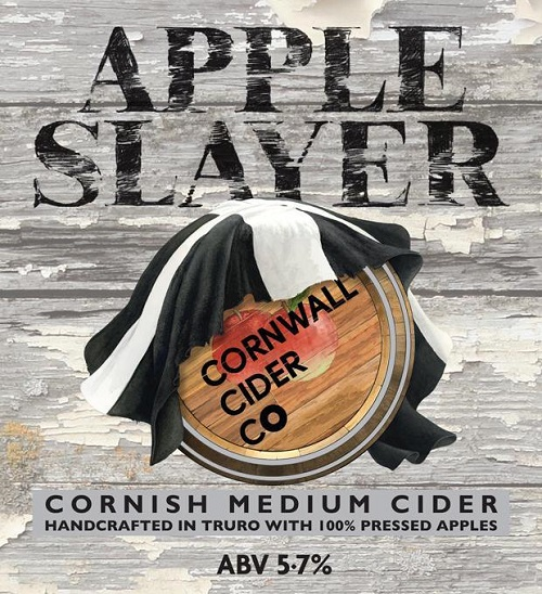 Cornwall Cider Apple Slayer 20Ltr Bag In Box Clear 5.7%