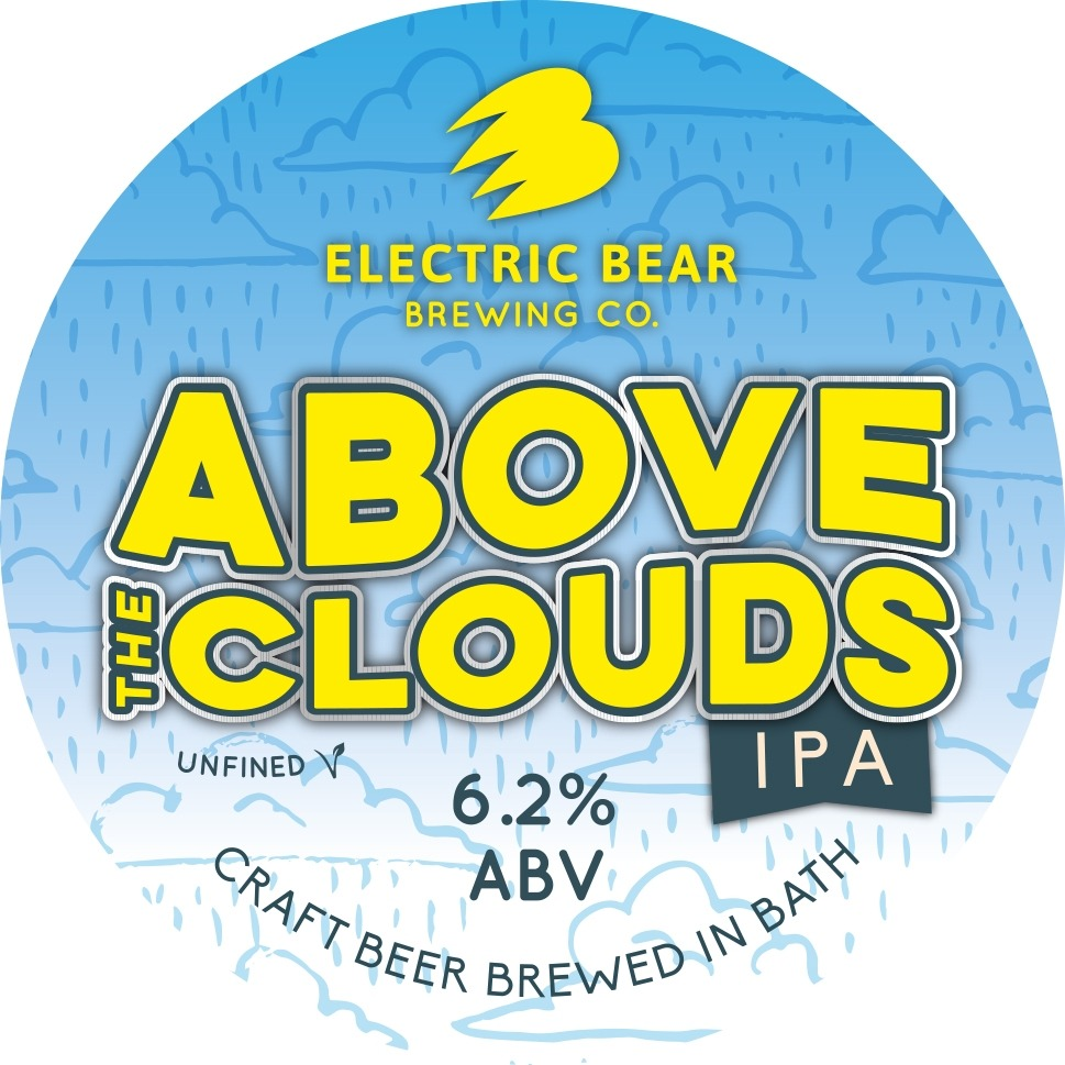 Electric Bear Above The Clouds 30Ltr E-Keg Pale 6.2%