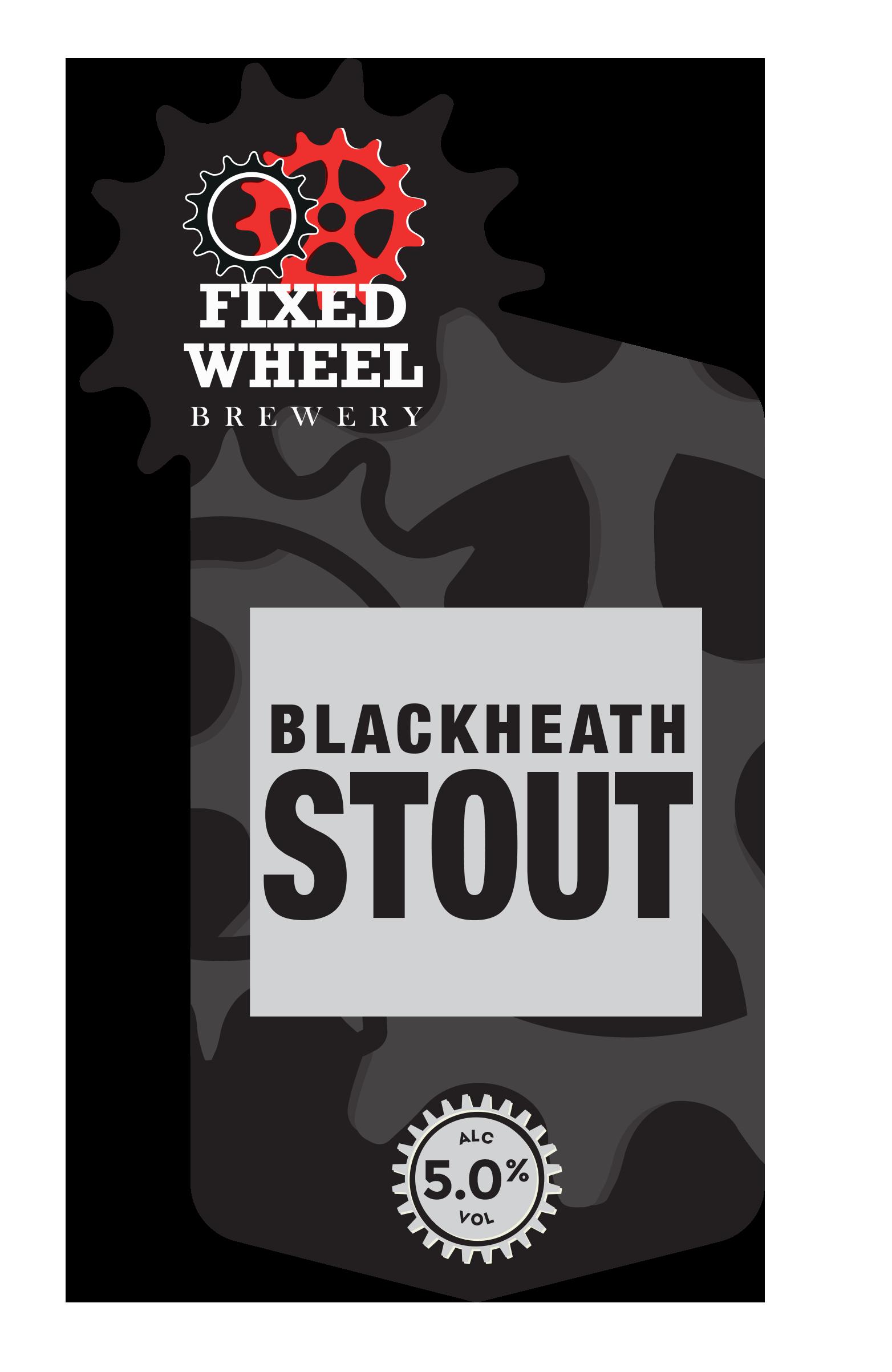 Fixed Wheel Blackheath Stout 9 Gallons Dark 5.0%