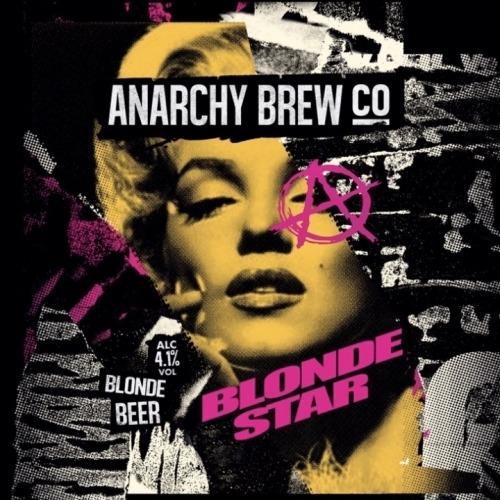 Anarchy Brew Blonde Star 9 Gallons Blonde  4.1%