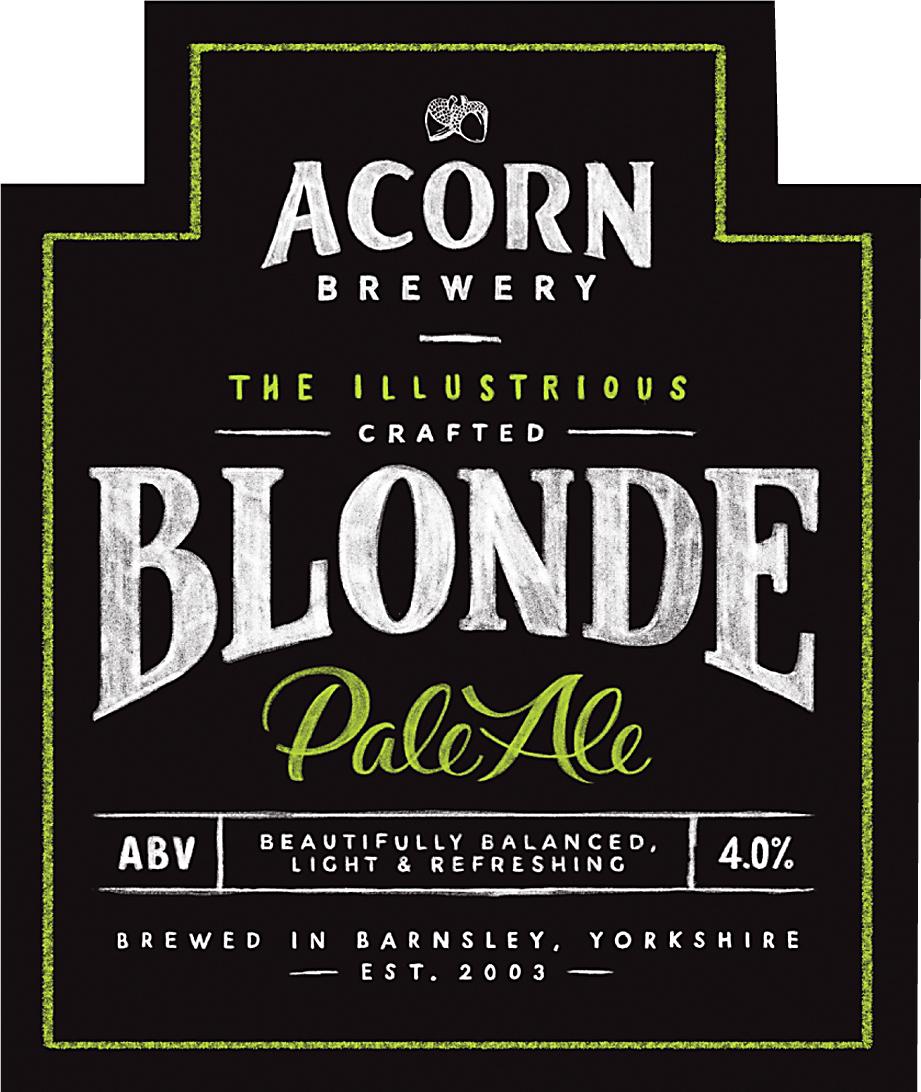 Acorn Blonde 9 Gallons Pale  4.0%