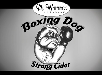 Mr Whiteheads Boxing Dog Cider 20Ltr Bag in Box Hazy7.5%