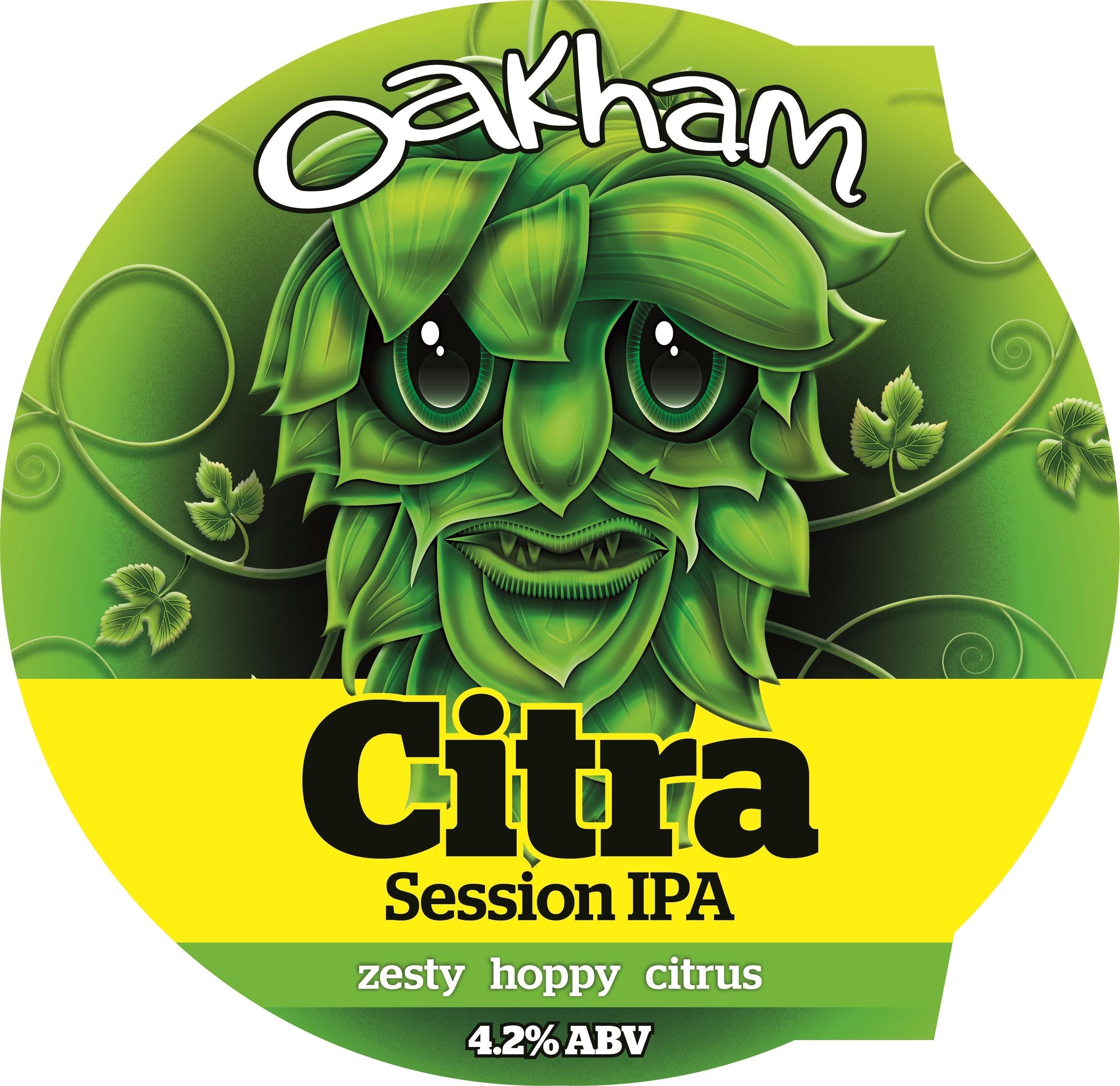 Oakham Citra 9 Gallons Golden  4.2%