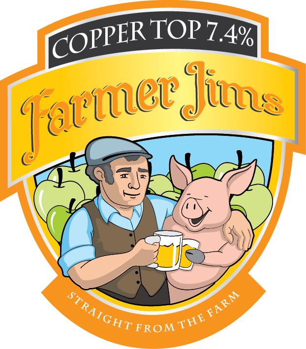 Farmer Jim Copper Top 20Ltr Bag In Box Cloudy 7.4%