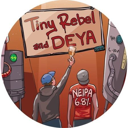 Tiny Rebel Deya NEIPA 30Ltr E-Keg Pale 6.8%