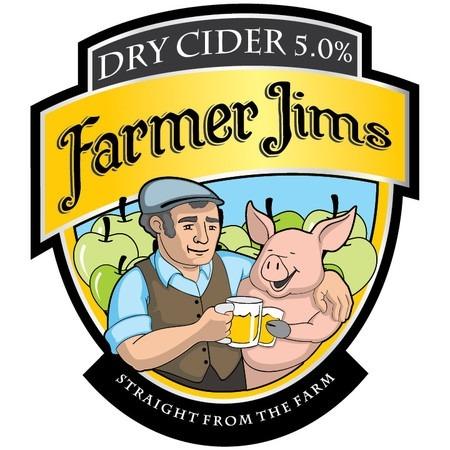 Farmer Jim Dry 20Ltr Bag in Box Hazy 5.0%