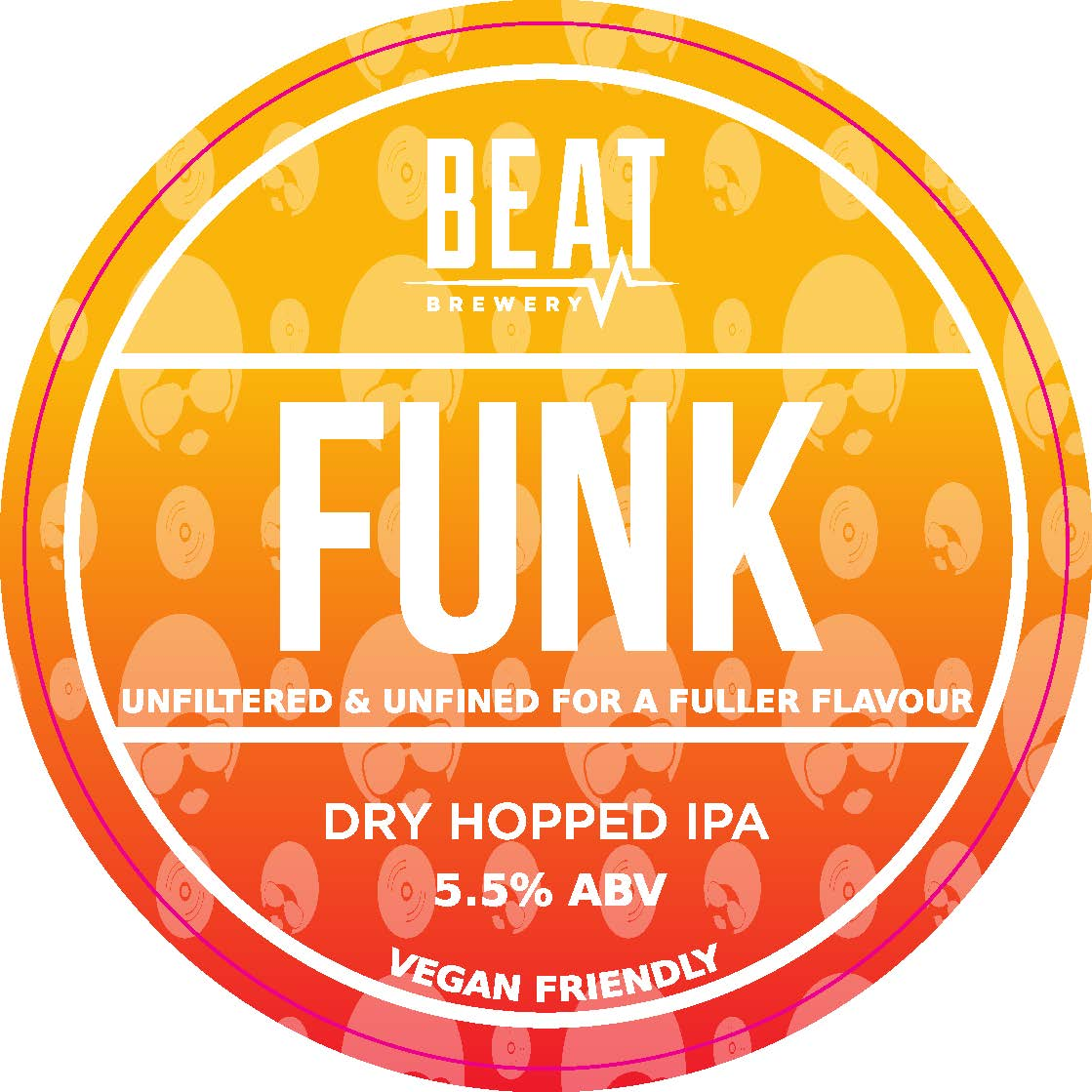 Beat Ales Funk Unfined 9 Gallons Light Golden 5.5%