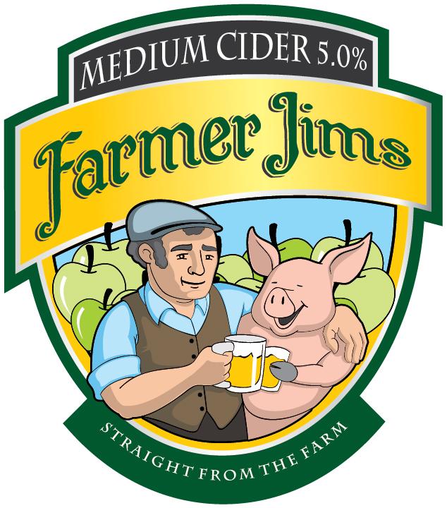 Farmer Jim Medium 20Ltr Bag in Box Cloudy 5.0%