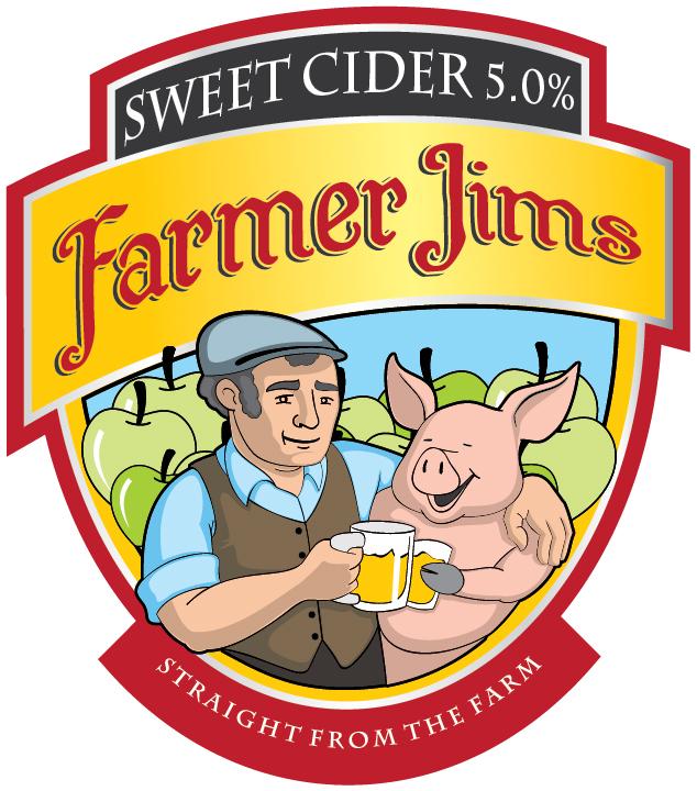 Farmer Jim Sweet 20Ltr Bag in Box Clear 5.0%