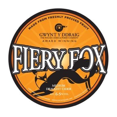 Gwynt Y Ddraig Fiery Fox 20Ltr Bag In Box Clear 6.5%