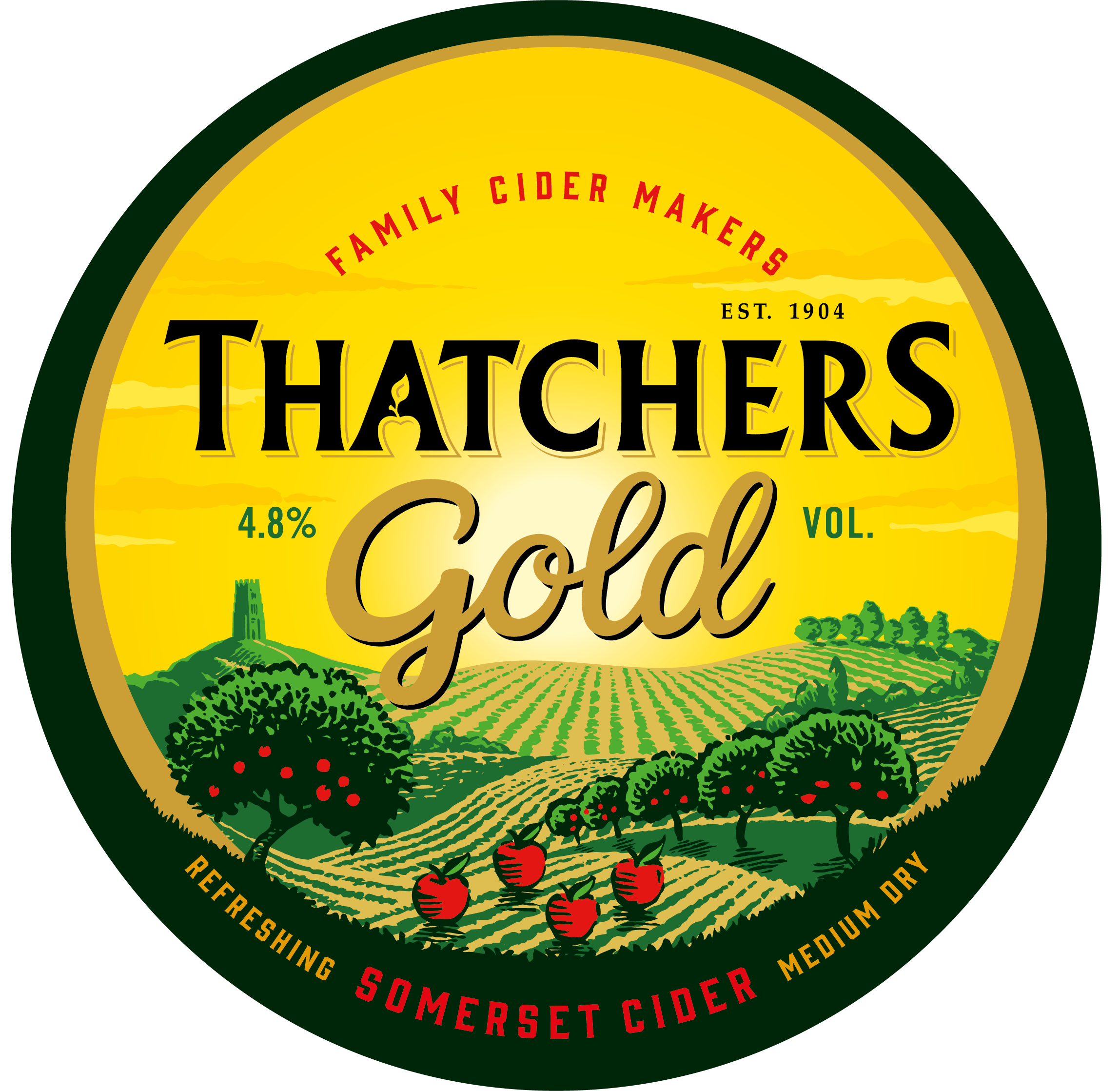 Thatchers Keg Gold 11 Gallons    4.8%