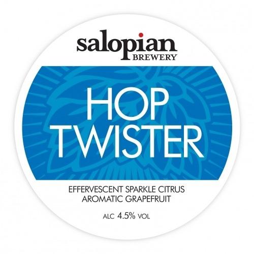 Salopian Hop Twister 9 Gallons Golden 4.5%