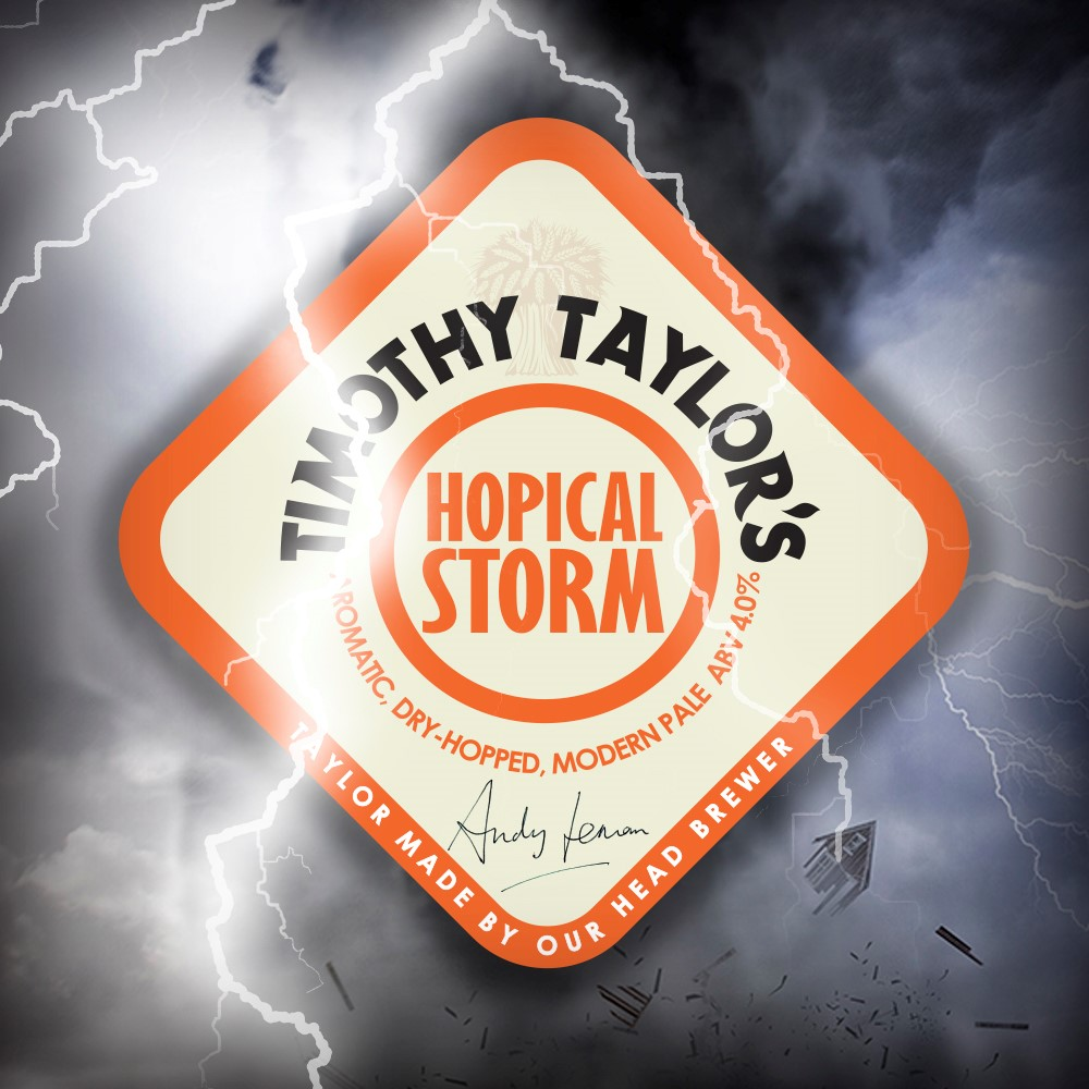 Timothy Taylor Hopical Storm 9 Gallons Pale 4.0%