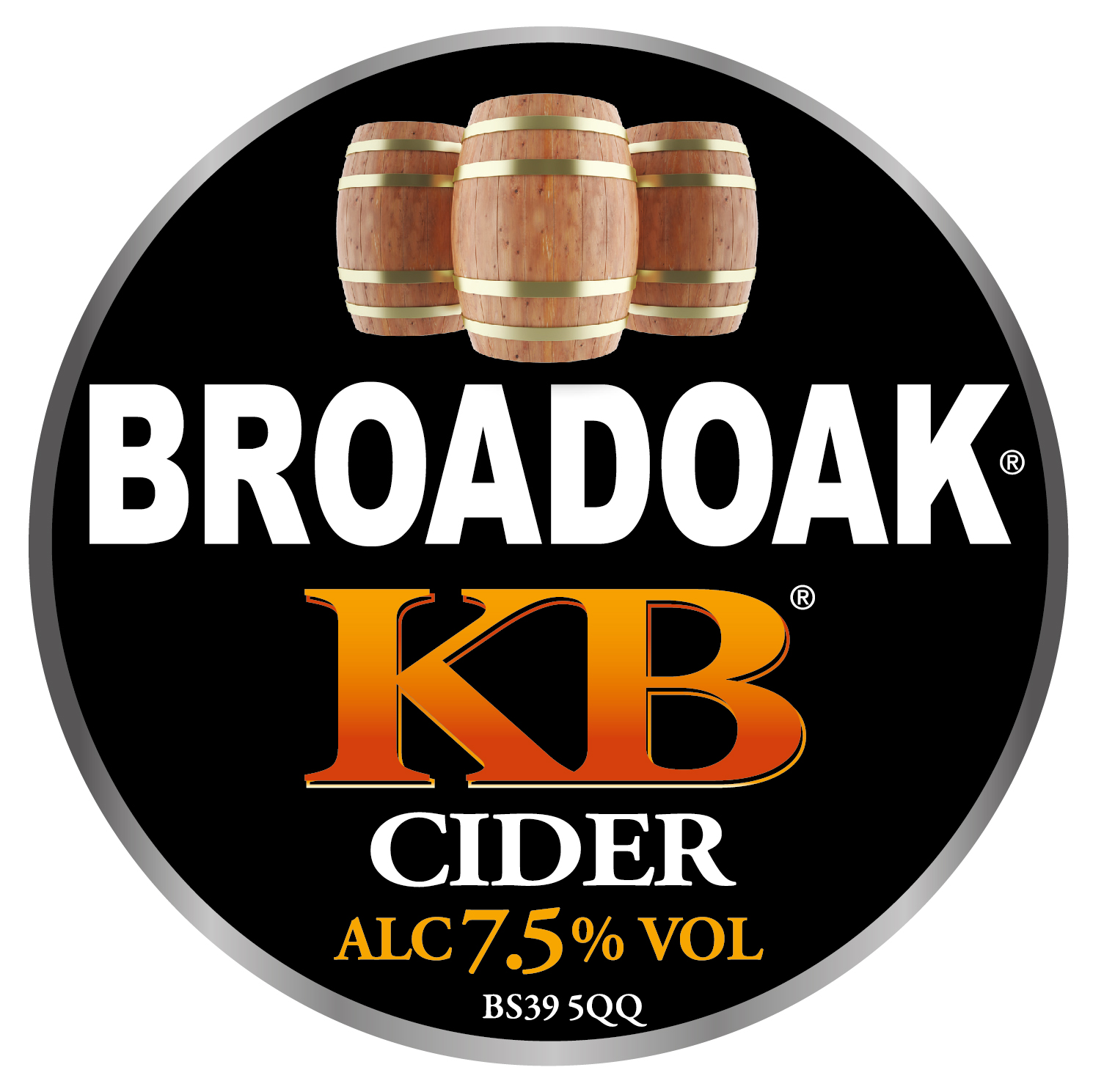 Broadoak KB 20Ltr Bag In Box Clear 7.5%
