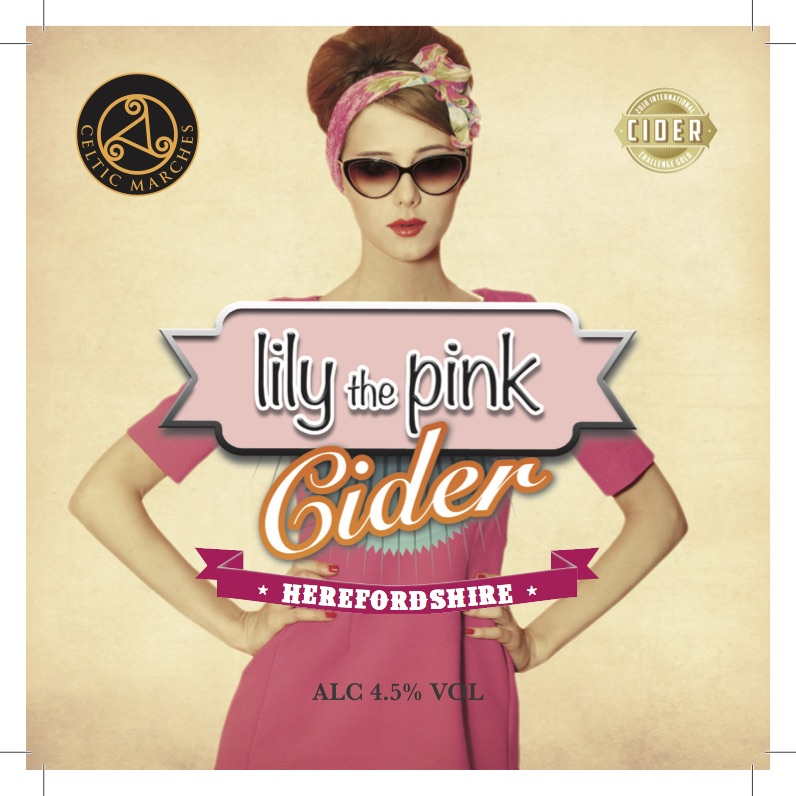 Celtic Marches Lilly The Pink 20Ltr Bag In Box Hazy 4.5%