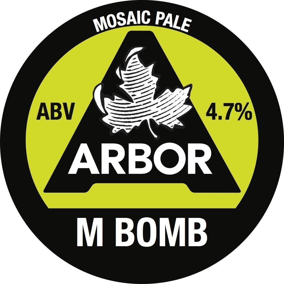 Arbor M Bomb 30Ltr E-Keg Golden 4.7%