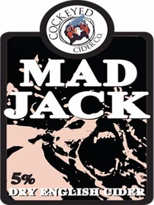 Cockeyed Cider Mad Jack 20Ltr Bag In Box Clear 5.0%