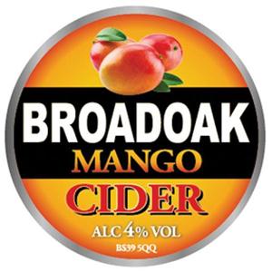 Broadoak Mango 20Ltr Bag in Box   4.0%