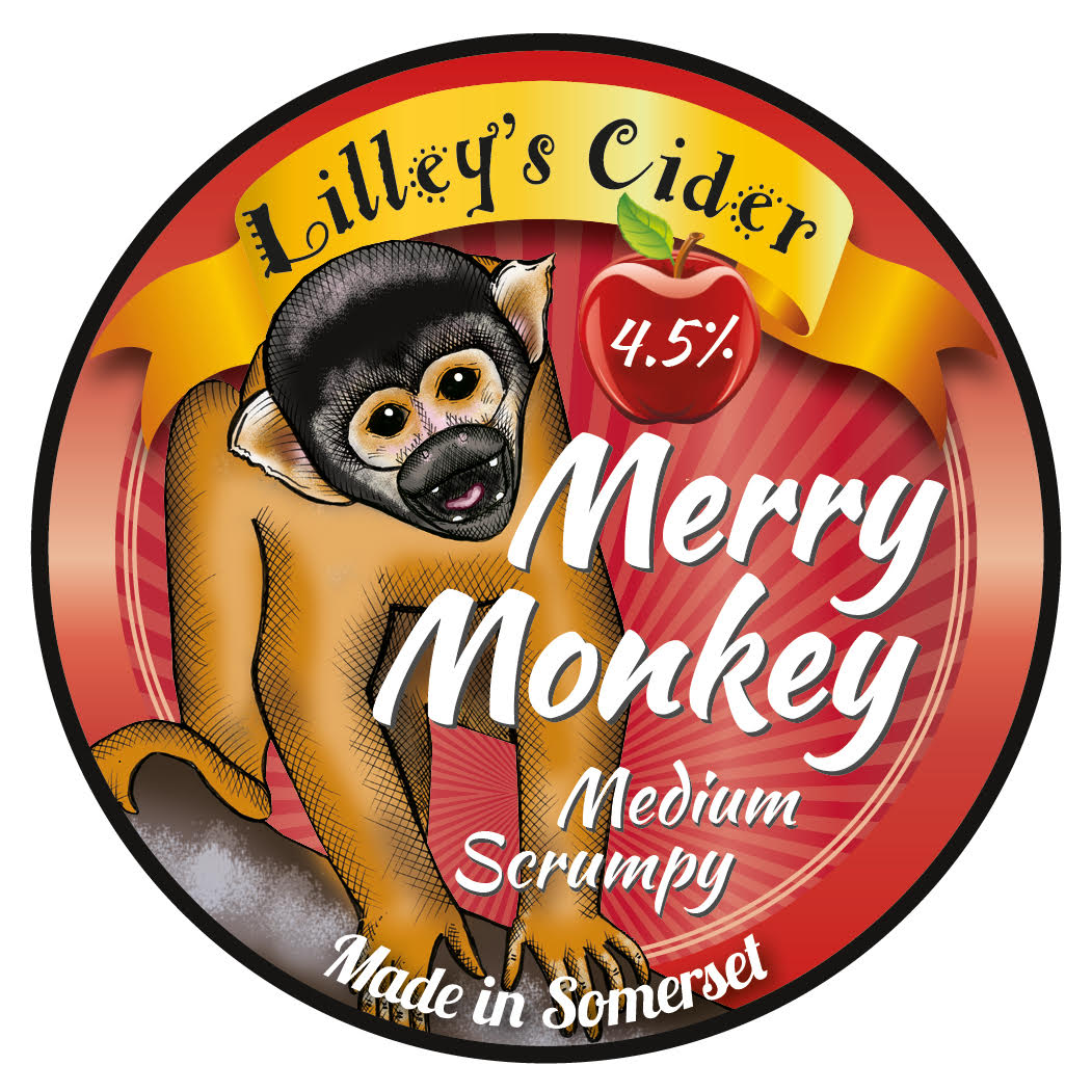 Lilley's Merry Monkey 20Ltr Bag In Box Cloudy 4.5%