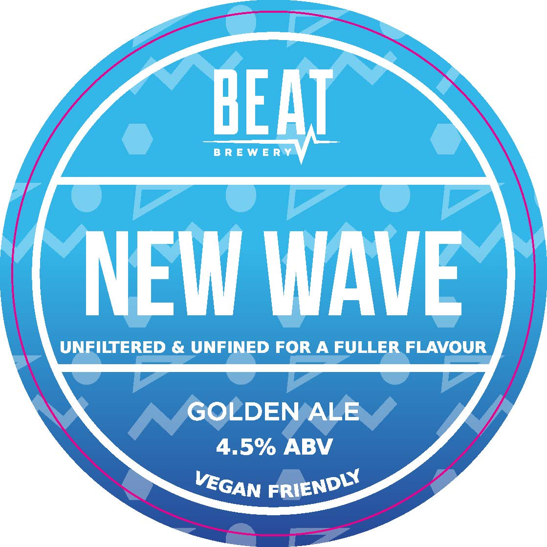 Beat Ales New Wave Unfined 9 Gallons Golden  4.5%