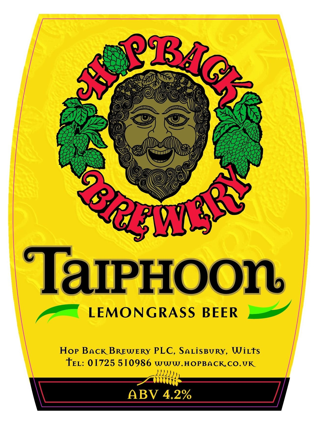 Hop Back Taiphoon 9 Gallons Pale   4.2%