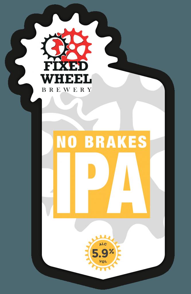 Fixed Wheel No Brakes IPA 9 Gallons Pale  5.9%