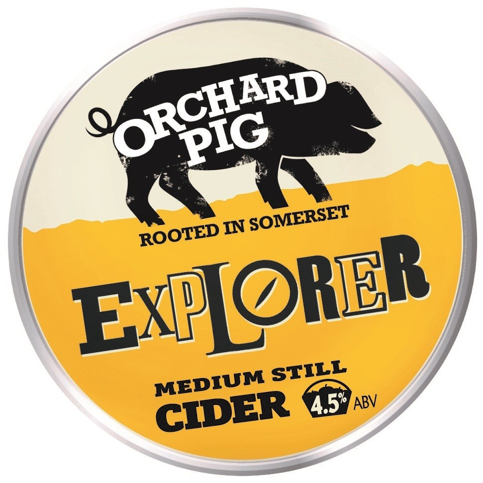 Orchard Pig Explorer 20Ltr Bag In Box Clear 4.5%