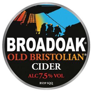 Broadoak Old Bristolian 20Ltr Bag In Box Clear 7.5%