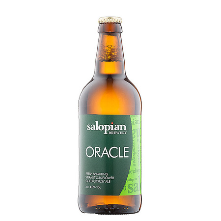 Salopian Oracle 12 x 500ml    4.0%