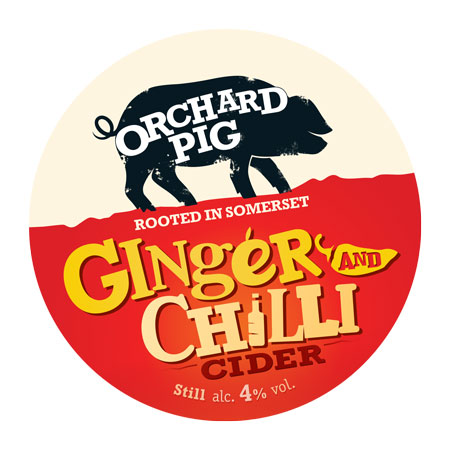 Orchard Pig Ginger and Chilli 20Ltr Bag In Box 4.0