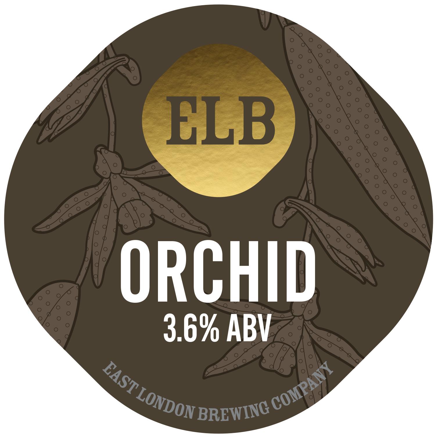East London Brewing Orchid Vanilla Mild 9 Gallons Dark 3.6%