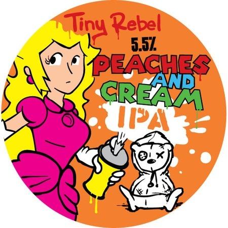 Tiny Rebel Peaches & Cream 30Ltr Keg    5.5%
