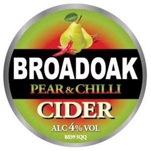 Broadoak Pear& Chilli 20Ltr Bag in Box    4.0%