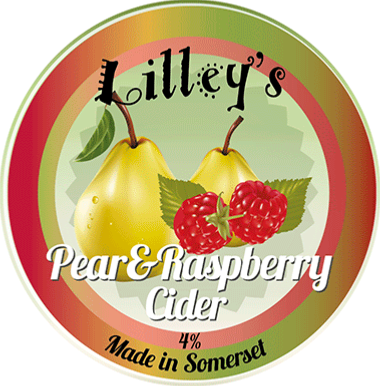 Lilley's Pear & Raspberry 20Ltr Bag In Box