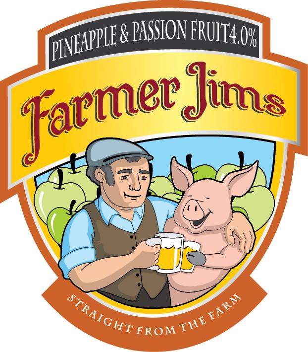 Farmer Jim Pineapple & Passionfruit 20Ltr Bag in Box   4.0%