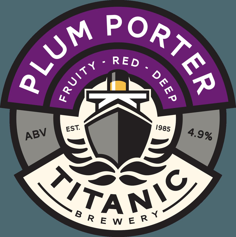Titanic Plum Porter 9 Gallons Dark 4.9%