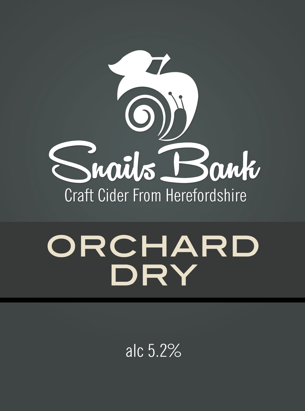 Snails Bank Orchard Dry Cider 20Ltr Bag In Box Clear 5.2%