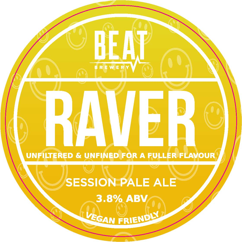 Beat Ales Raver UNFINED 9 Gallon Straw 3.8%