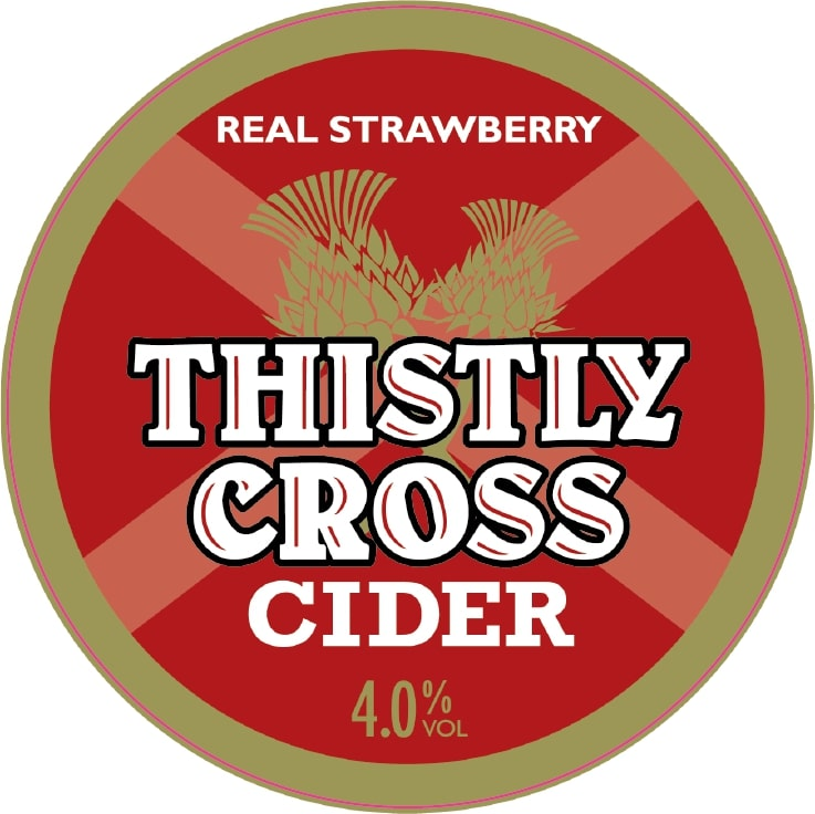 Thistly Cross Draught Keg Strawberry Cider 30Ltr    4.0%