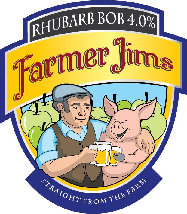 Farmer Jim Rhubarb Bob 20ltr Bag In Box    4.0%
