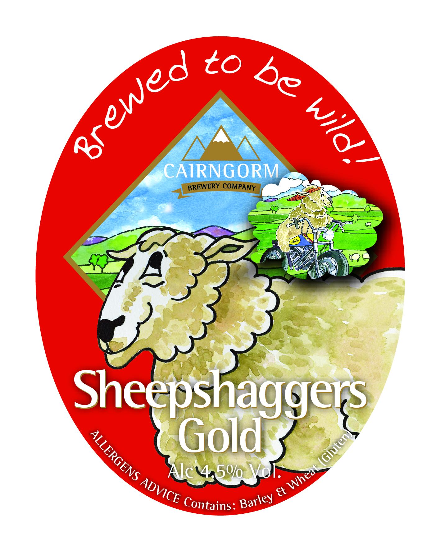 Cairngorm Sheepshaggers 9 Gallons Golden    4.5%