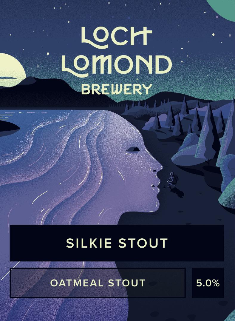 Loch Lomond Silkie Stout 9 Gallons Dark 5.0%