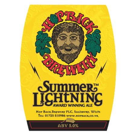Hop Back Summer Lightning 9 Gallons Golden 5.0%