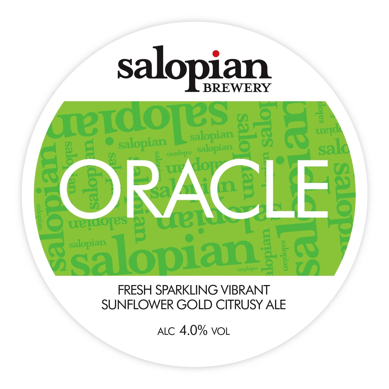 Salopian Oracle 18 Gallons Straw 4.0%