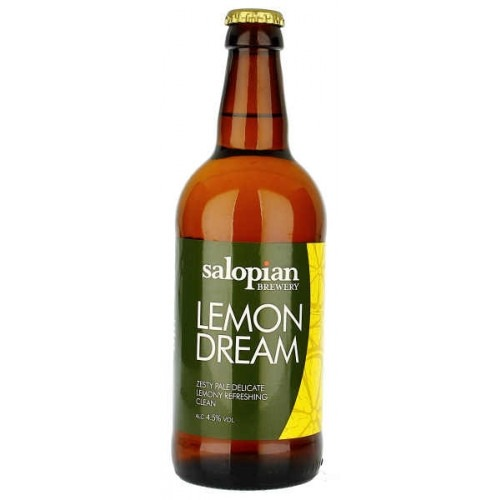 Salopian Lemon Dream 12 x 500ml Bright Gold 4.5%