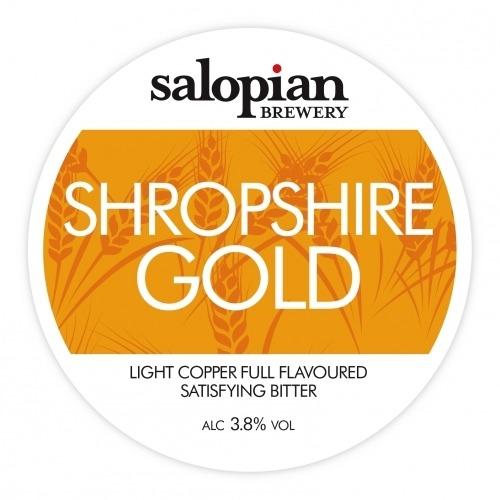 Salopian Shropshire Gold 9 Gallons Golden 3.8%
