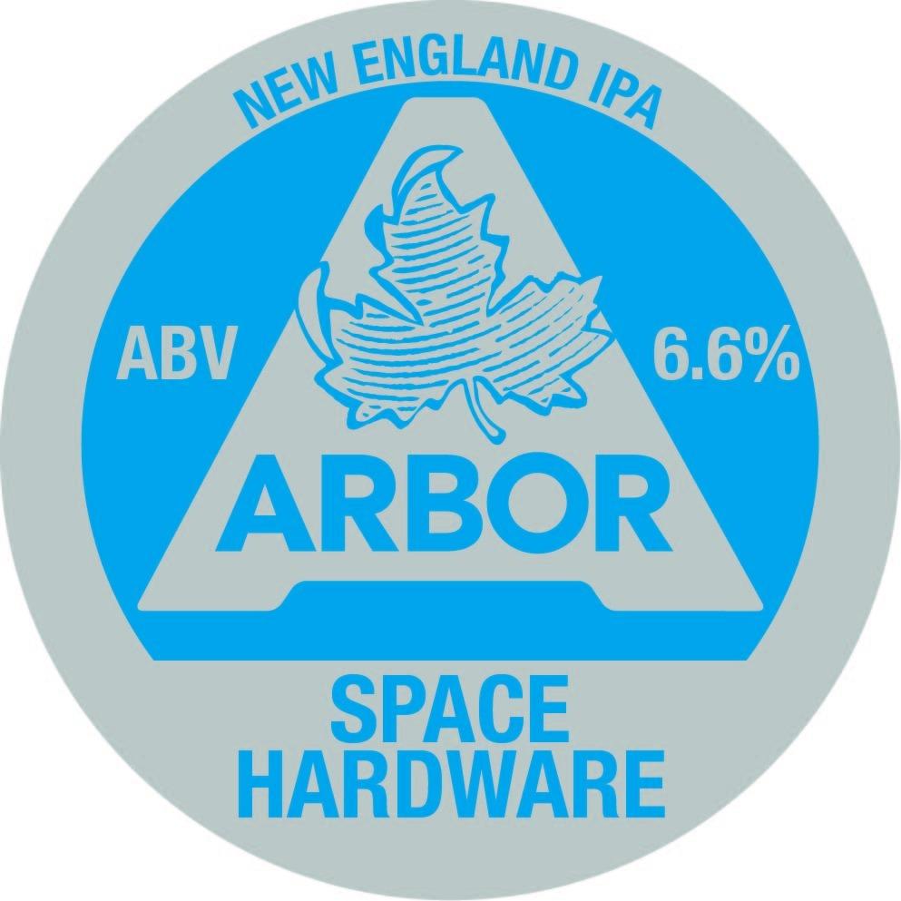 Arbor Space Hardware (Unfined) 30Ltr E-Keg Hazy Yellow 6.6%