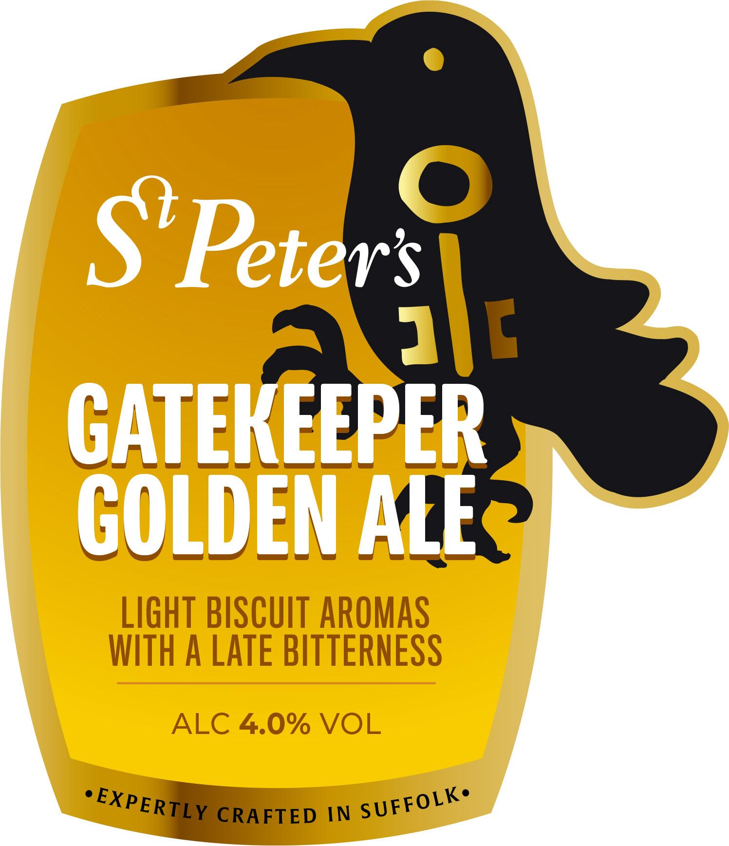 St Peters Gatekeeper Golden Ale 9 Gallons Golden    4.0%