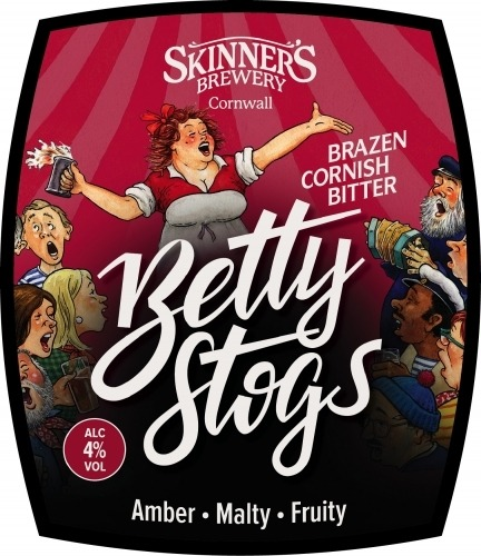 Skinner's Betty Stogs 9 Gallons Copper 4.0%