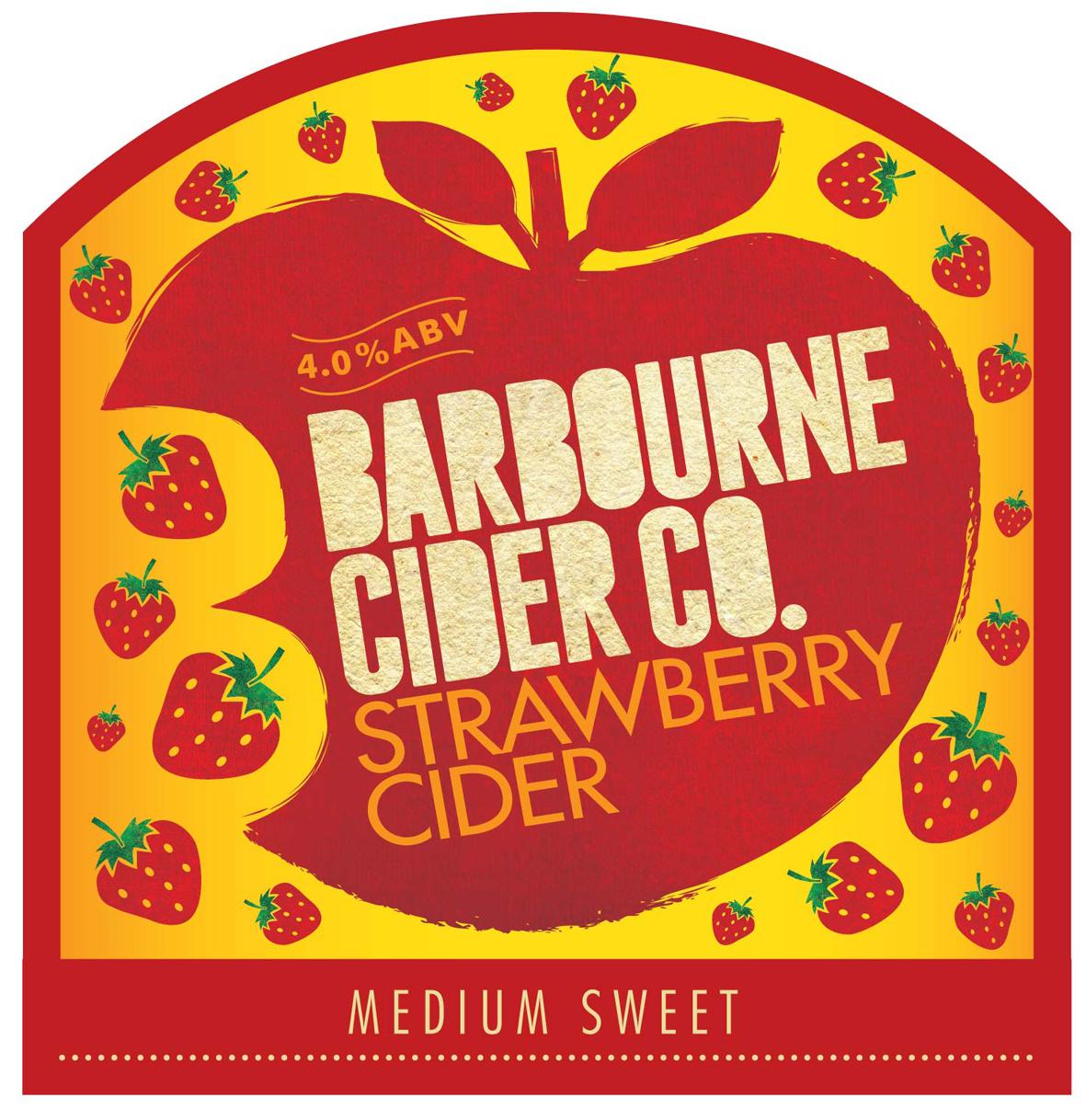 Barbourne Strawberry  20ltr Bag In Box Med-Sweet   4.0%